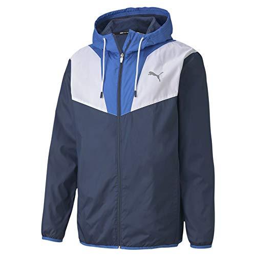 PUMA Herren Reactive Woven Trainingsjacke Dunkelblau, Blau Jacken, S