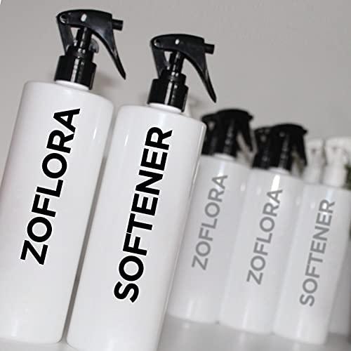 ZOFLORA Y SOFTENER - Pegatinas para botellas de spray inspiradas en Mrs Hinch (tipo 4)