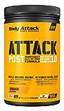 Body Attack POST ATTACK 3.0, Post-Workout-Shake mit Maltodextrin, Creatin, Whey Protein Isolate und Glutamin, 900g, Orange