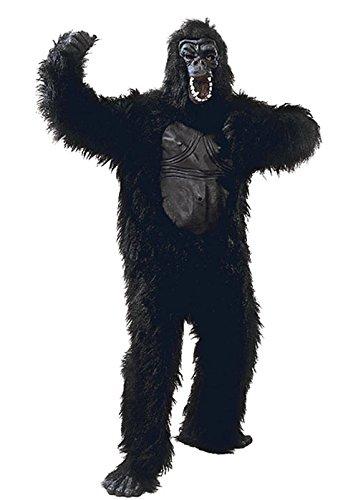 Taille adulte en caoutchouc poitrine Costume de gorille