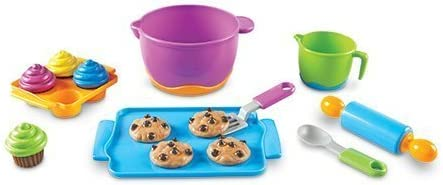 Learning Resources New Sprouts Bake It! Pretend Play Food
