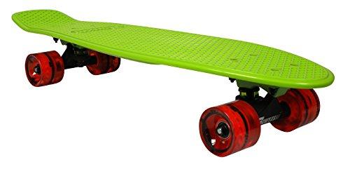 BANZAI Vintage Skateboard, 27Zoll/68,6 cm, Vintage, grün