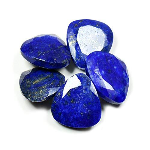 55Carat Herren Damen Unisex Kinder - Trillionschliff Blue natürlicher Lapislazuli