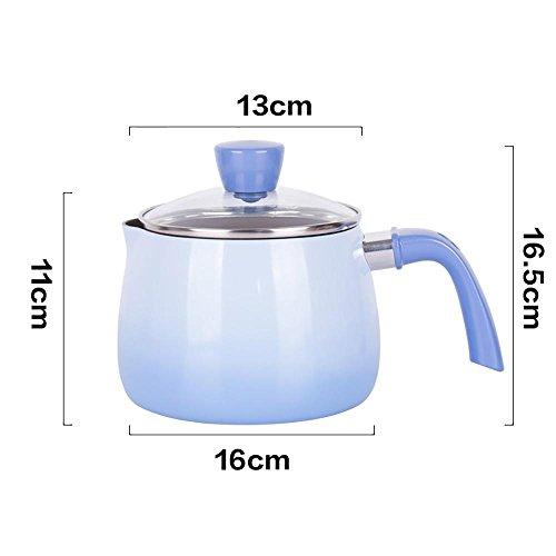 T&G 16cm StockPot Multi-Ply Roestvrij Staal Geklede Soeppot Met Glas Deksel Warmte Kookgerei paars