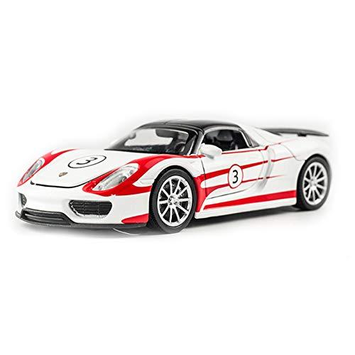 DXZJ 1:32 para Racing Martini 918S Modelo De Coche Deportivo 1:32 Modelo De Coche De Aleación De Simulación Colección De Coches De Juguete para Niños (Color : 3)