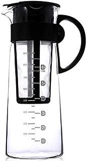 إبريق الشاي، ماكينة منزلية محمولة للمشروبات الساخنة أو الباردة مزدوجة الاستخدام فلتر القهوة والشاي الإسبريسو القهوة آيس با...