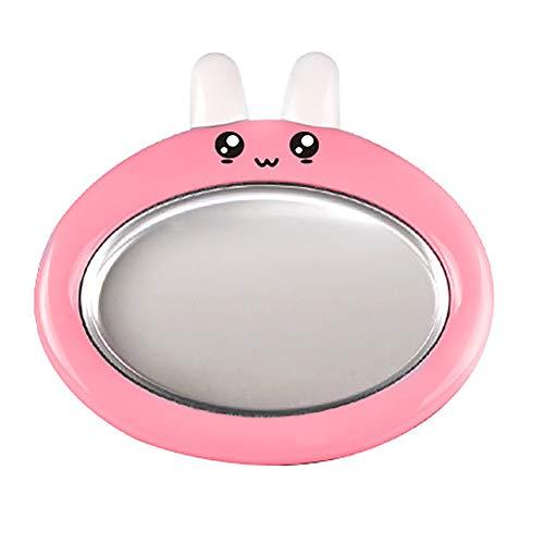 Mini Runde Rührjoghurt Maschine Nettes Kaninchen Kind Gebratene Eisschale Hausgemachtes EIS DIY (Blau)