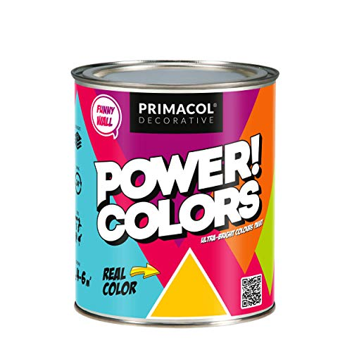 Colores acrílicos fluorescentes para arte y vivienda, colores luminosos con efecto brillante bajo luz ultravioleta (Supernova Yellow)