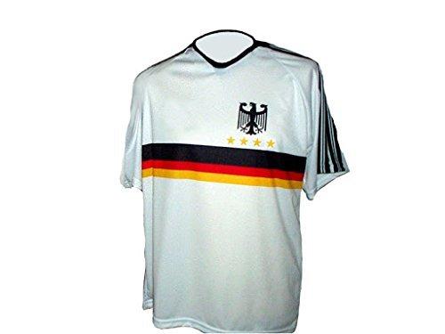 Spielfussballshop Deutschland Trikot Adler Kinder Größen (134)