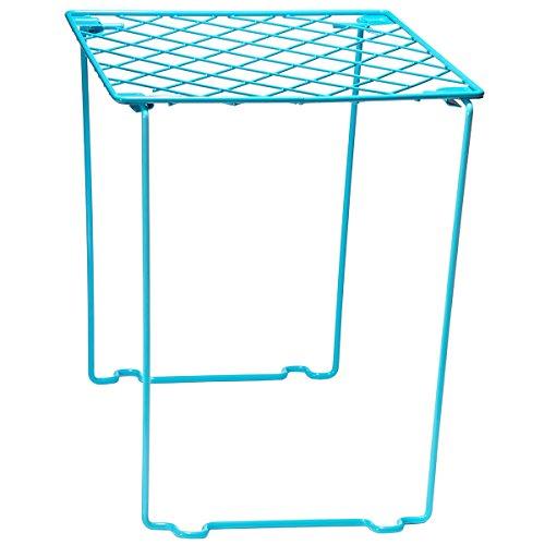 Style it! Stackable Locker Shelf, Turquoise Blue