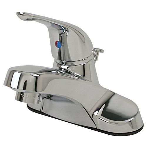 Ultra UF34010 Faucets UF34010-Grifo Monomando para Lavabo, cromado