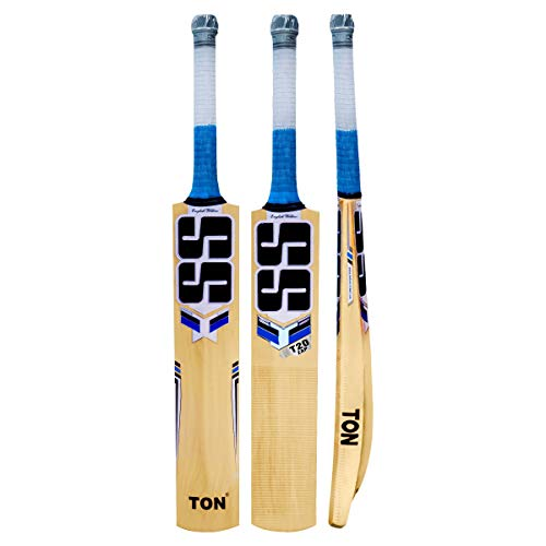 SS T20 ZAP English Willow Cricket Bat - 2019 Edition, Short Handle Men's Includes