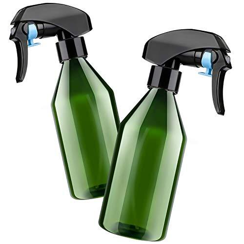 Botella Spray Pulverizador 2Pcs,Pulverizador Plantas,Pulverizador Agua de Gatillo,Botella Spray,Botella Spray Jardineria 300ml,Botella Spray Niebla Fina,para Regar Plantas de Jardín,de Limpiez