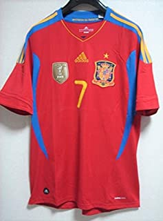 代表 スペイン代表 ホームシャツ ダビド・ビジャ