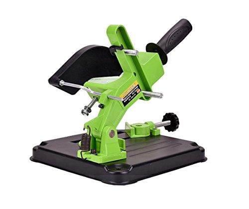 in budget affordable Angle grinder stand Grinder holder Milling holder Aluminum holder, iron base Angle grinder 100-115…