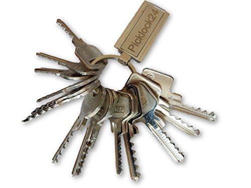 Picklock24 Schlagschlüssel-Set Deutschland Nr.1 (14 Schlüssel)