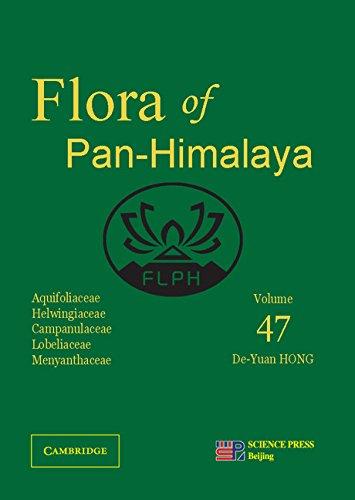 Aquifoliaceae, Helwingiaceae, Campanulaceae, Lobeliaceae, Menyanthaceae (Flora of the Pan-Himalaya, Band 47)
