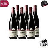 Pommard Rouge 2013 - Domaine Eric Montchovet - Vin AOC Rouge de Bourgogne - Cépage Pinot Noir - Lot de 6x75cl