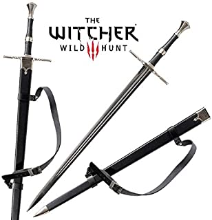 The Witcher 3: Wild Hunt Geralt of Rivia Ciri Cosplay Replica Sword Game Stainless Steel