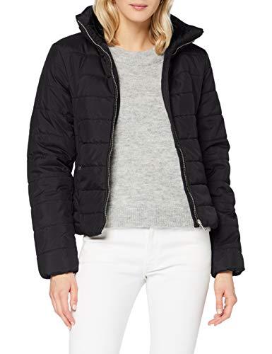Vero Moda VMCLARISA AW20 Short Jacket Boos Chaqueta, Negro, L para Mujer