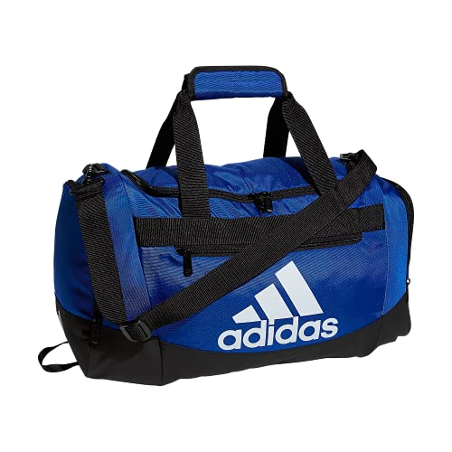 Adidas, borsone da adulto Defender 4, taglia unica, colore: blu reale