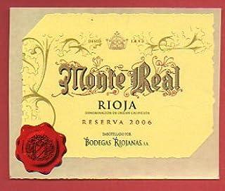 10 Mejor Bodegas Riojanas Monte Real Reserva 2006 de 2020 – Mejor valorados y revisados