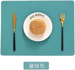 حصيرة الخبز سيليكون غير لاصق وعاء تحديد تحديد تحديد الجدول حامي المطبخ المعجنات بطانة الخبز حصيرة لغرفة الطعام (اللون: 5، ...