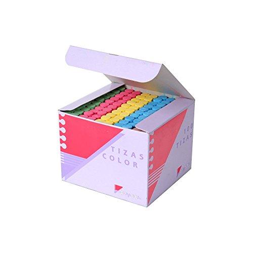 Pryse CA-100 - Tizas, 100 unidades, multicolor