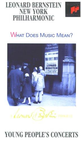 Bernstein, Leonard - Was bedeutet Musik? [VHS]