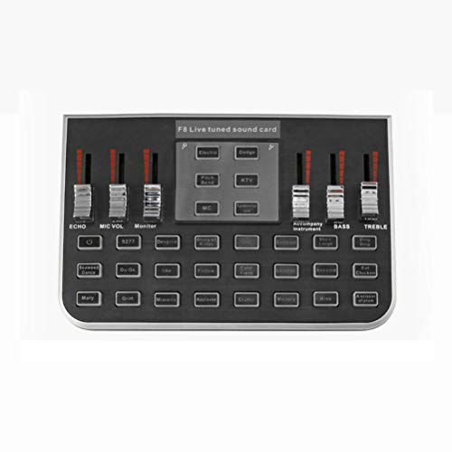 Professionele USB Audio Mixer, Sound Controller Audio Interface Audio Box Digital Mixer Recorder voor PS4 Telefonie Informatica Karaoke LiveMe Streamer Youtube