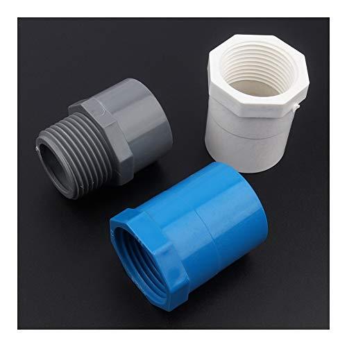 Conexión de reparación de jardín 35pcs 32mm ~ 1' uniones de tubo conectores hembra de la tubería/Rosca macho de PVC Conector Jardín del agua de riego grifo de la cocina Accesorios