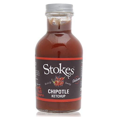 Stokes Chipotle Ketchup, scharf, 245 ml