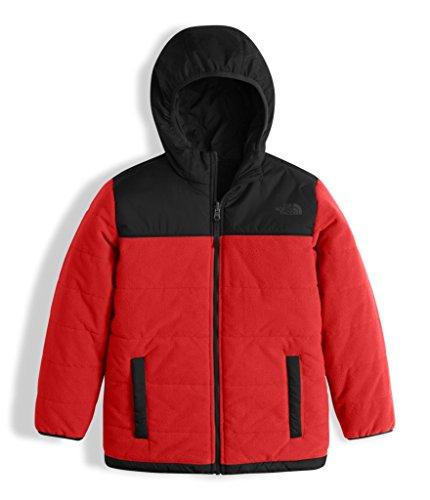 The North Face Boy's Reversible True Or False Jacket - TNF Red & TNF Black - XL (Past Season)