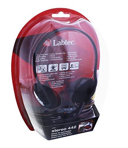 Labtec 981-000083 Stereo 442 Kopfhörer für PC Voice Access