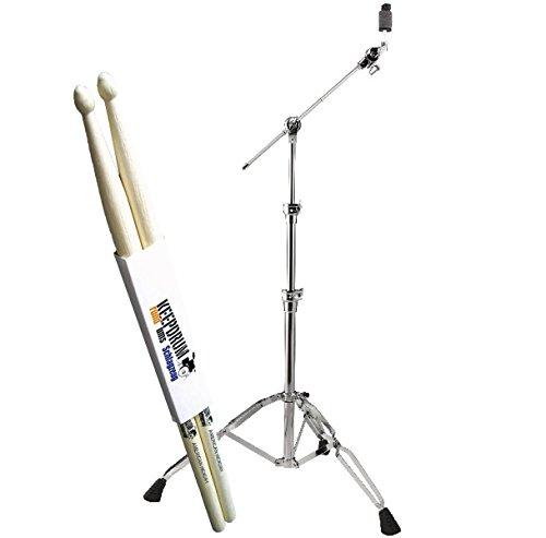 Pearl BC-930 Galgen-Beckenständer + keepdrum Drumsticks 1 Paar