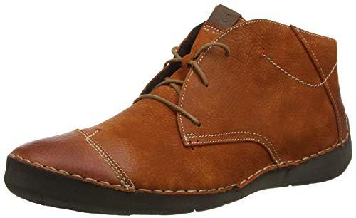 Josef Seibel Damen Fergey 18 Halblange Stiefel, orange, 45 EU