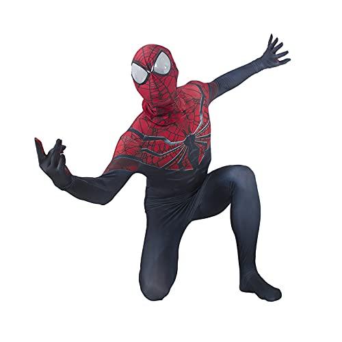 XNheadPS Mono de Cosplay de Bruja Escarlata, Mono de Fiesta de Carnaval de Halloween, Disfraz de superhroe para nios y Adultos,Red- Adult XL 170~175cm