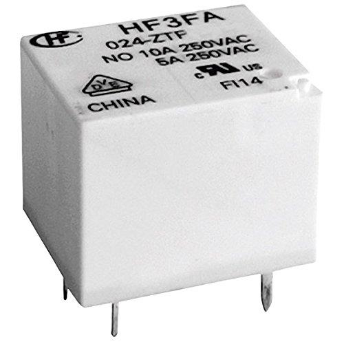 Hongfa HF3FA/012-ZTF Printrelais 12 V/DC 10 A 1 Wechsler 1 St.