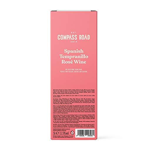 Amazon-Marke - Compass Road Roséwein Tempranillo Rosé trocken, Spanien (Bag in Box), 5L - 3