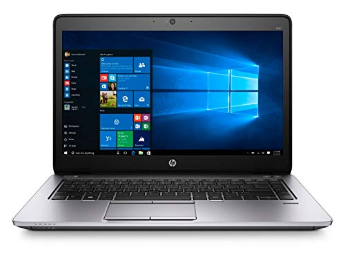 HP EliteBook 840 G2 14-inch Ultrabook (Intel Core i5 5th Gen, 8GB Memory, 256GB SSD, WiFi, WebCam, Windows 10 Professional 64-bit) (Renewed)