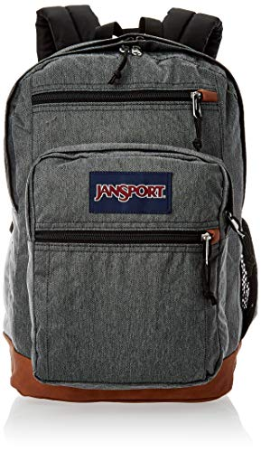 JanSport Cool Student, Black & White Herringbone, One Size