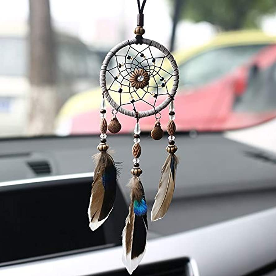 Wind Chimes & Hanging Decorations - With Shell Dream Catcher Car Pendant Home Ornaments Innovative Gifts Wind Chimes Dreamcatcher - Hanging Dreamcatcher Home Wind Material Wind Metal Chime Catc