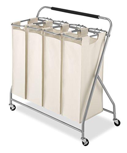 Whitmor Easy-Lift 4-Bag / Quad Laundry Sorter