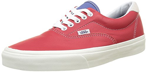 Vans Unisex-Erwachsene Era 59 Sneakers, Rot ((Vintage Sport) Racing Red/Bijou Blue), 43 EU (9 UK)/ 10 US