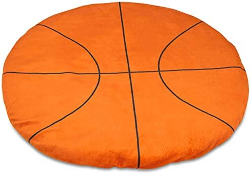 FRIENDLY CUDDLE Basketball Weighted Lap Pad for Kids 5 lbs Sensory Weighted Stuffed Lap Blanket product image