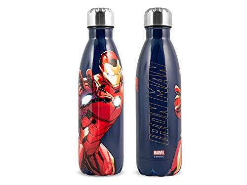 H&H Ironman Bottiglia Termica, Inox, 0,50lt