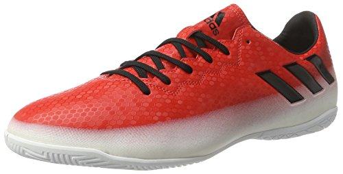 adidas Messi 16.4 IN, Botas de fútbol Hombre, Rojo (Red C Ore Blackfootwear White), 42 2/3 EU