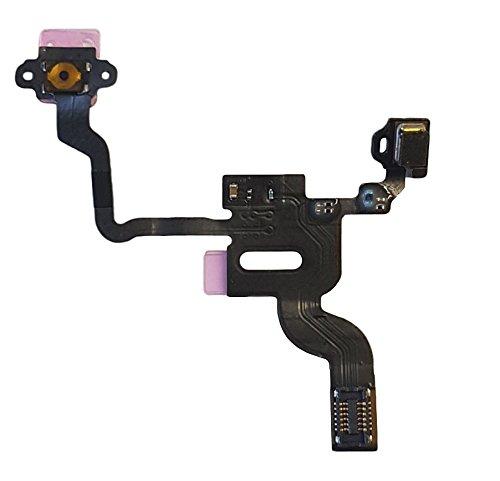Smartex Cable Interior por Boton de Encendido Compatible con iPhone 4 – Conector Flex para Power ON Off, Volumen, Mudo, Sensor de Luz e Proximidad