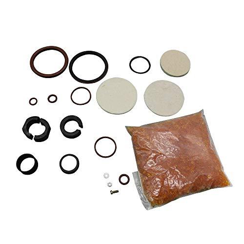 Kit de reparación de compresor,Tickas Kit de reparación de compresor adecuado para Land Rover Discovery 3 4 06-09 Range Rover Sport 04-12