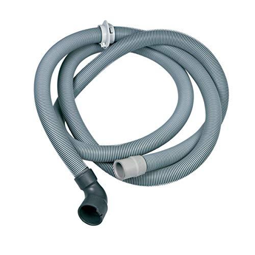Tubo di scarico per lavastoviglie di ricambio per AEG 14000357101/9 – Lunghezza 2,25 m – Ø 30/22 mm angolo dritto – anche per Zanussi Zanker Electrolux Privileg.